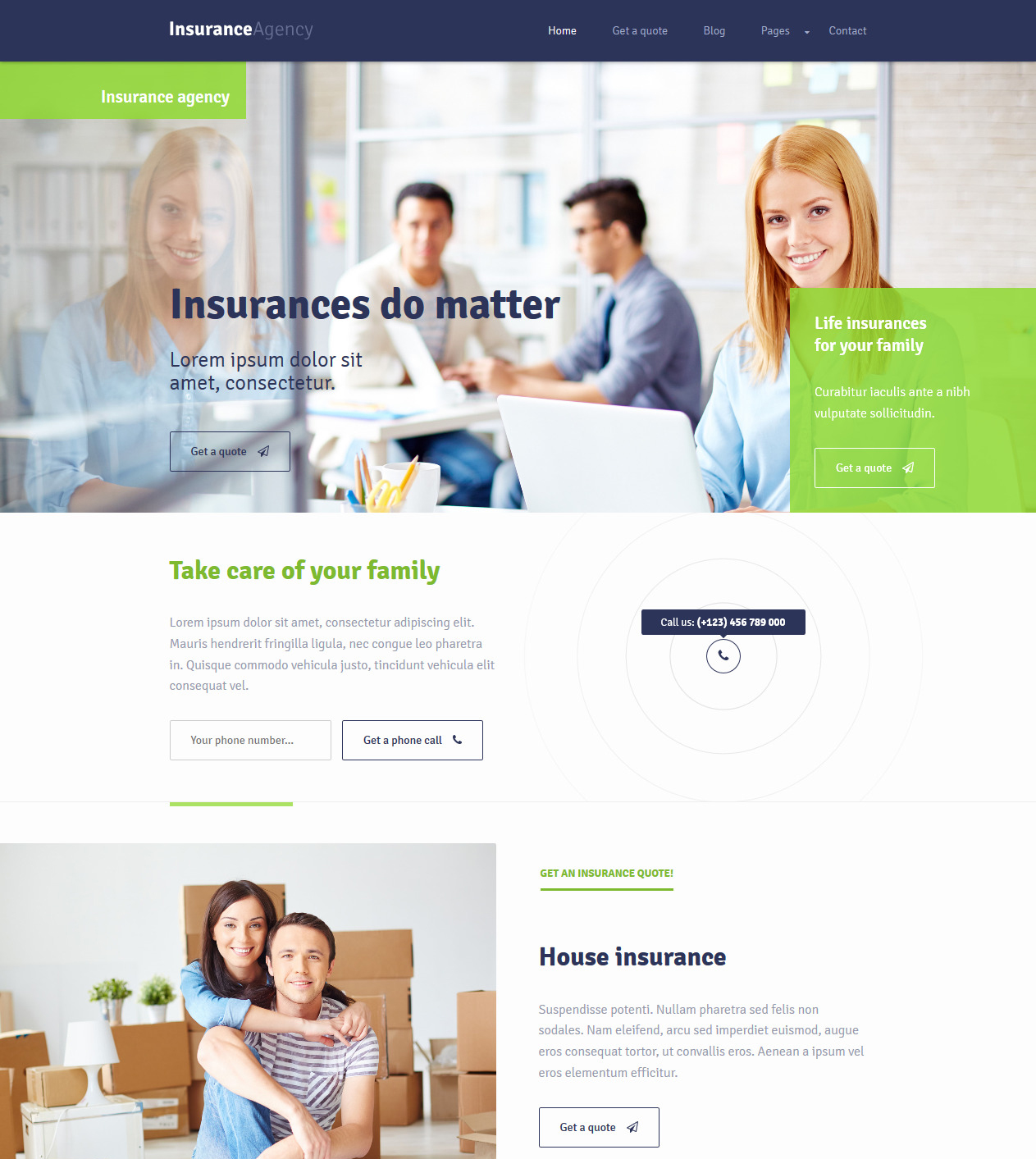 Insurance Agency Thumb - Our Themes