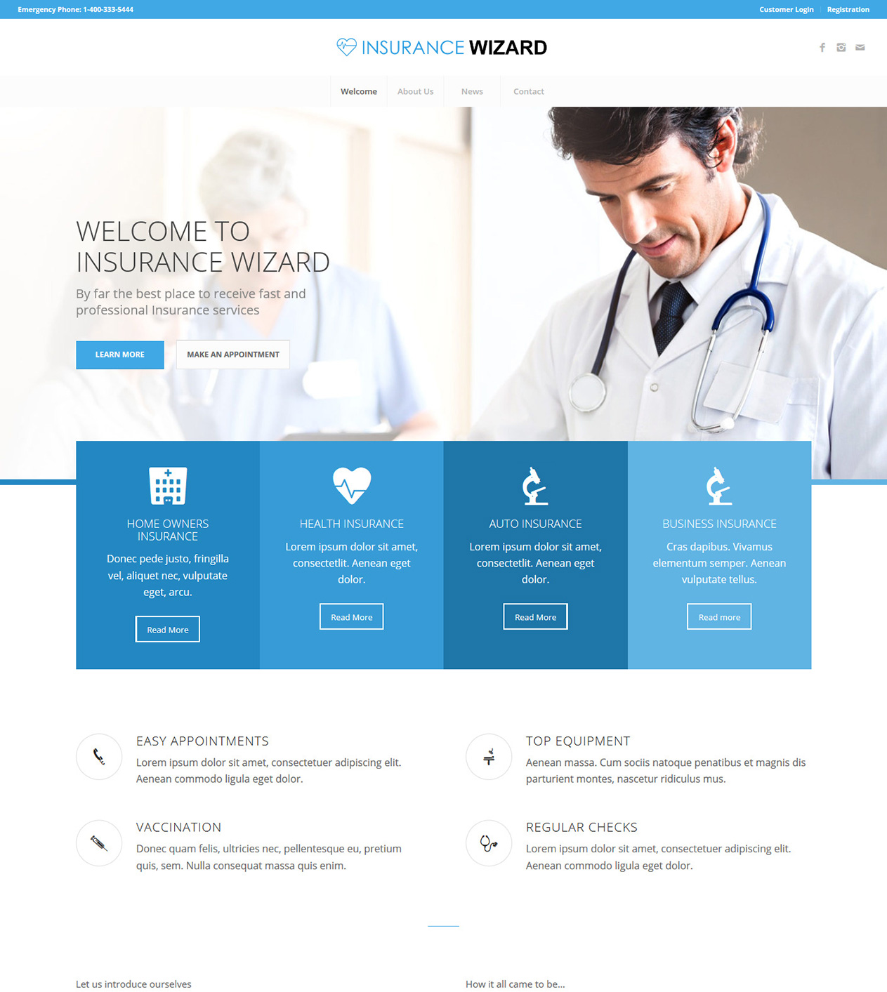 Insurance Wizard thumb - Our Themes